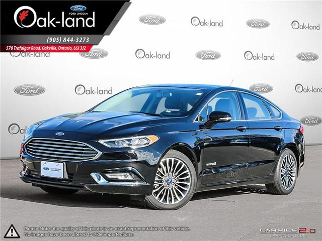 2018 Ford Fusion Hybrid Titanium (Stk: A3095) in Oakville - Image 1 of 28
