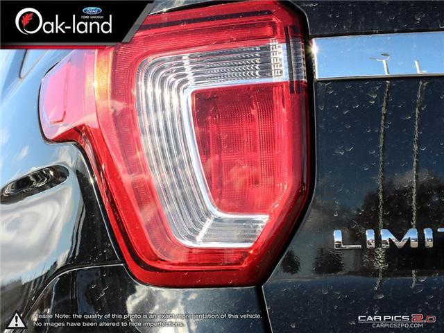 2018 Ford Explorer Limited (Stk: A3097) in Oakville - Image 12 of 28