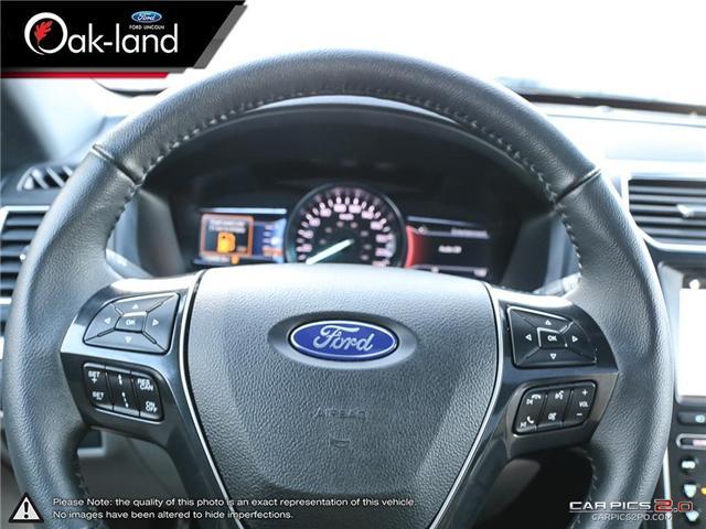 2018 Ford Explorer Limited (Stk: A3097) in Oakville - Image 14 of 28