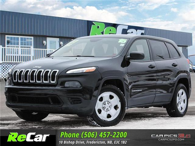 2015 Jeep Cherokee Sport (Stk: 181171A) in Fredericton - Image 1 of 26