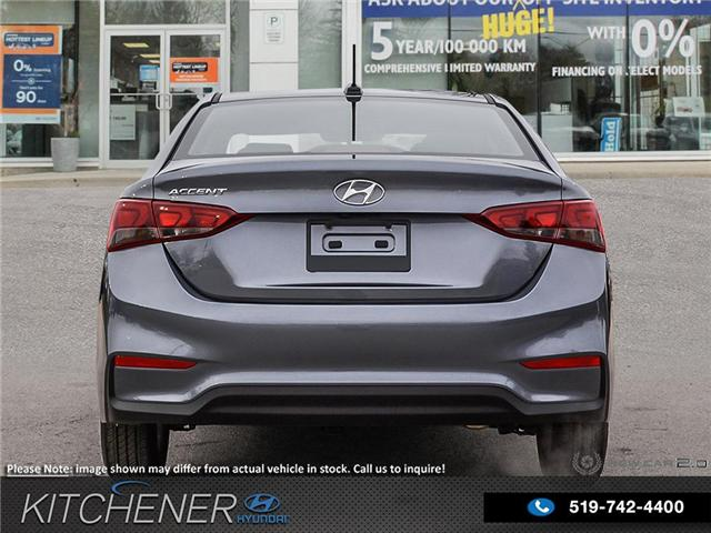 2019 Hyundai Accent Preferred (Stk: 58189) in Kitchener - Image 5 of 22