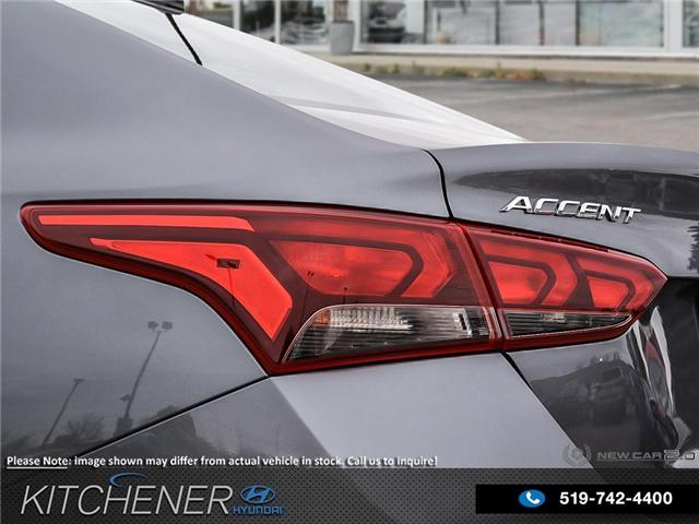2019 Hyundai Accent Preferred (Stk: 58189) in Kitchener - Image 11 of 22