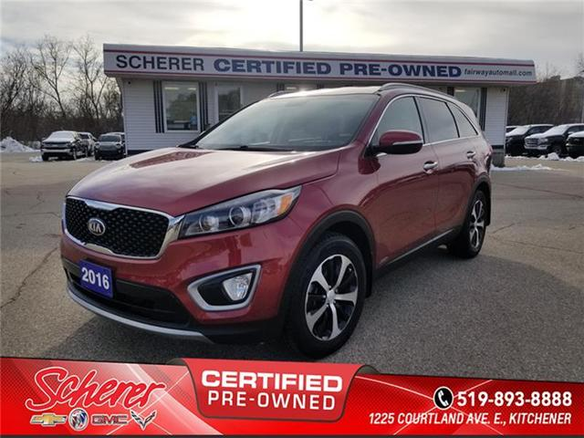 2016 Kia Sorento 2.0L EX (Stk: 1817650A) in Kitchener - Image 1 of 15