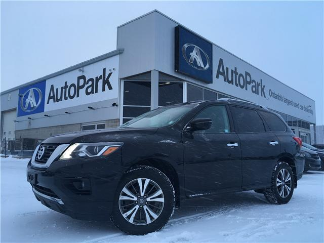 2017 Nissan Pathfinder SV (Stk: 17-00359RJB) in Barrie - Image 1 of 27
