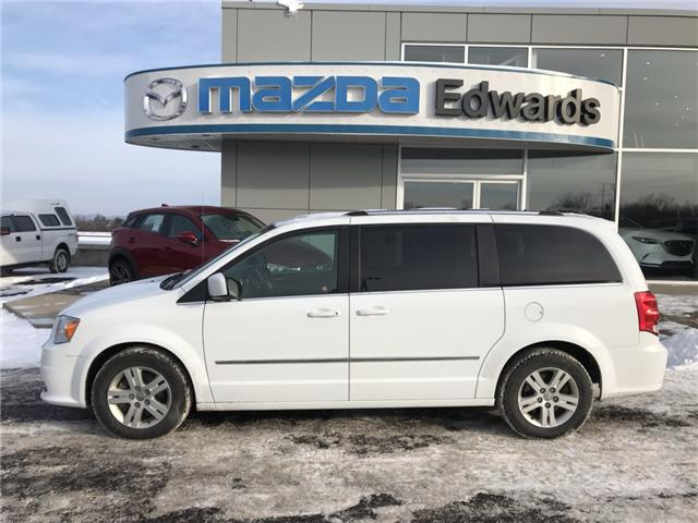 2017 Dodge Grand Caravan Crew (Stk: 21544) in Pembroke - Image 1 of 10