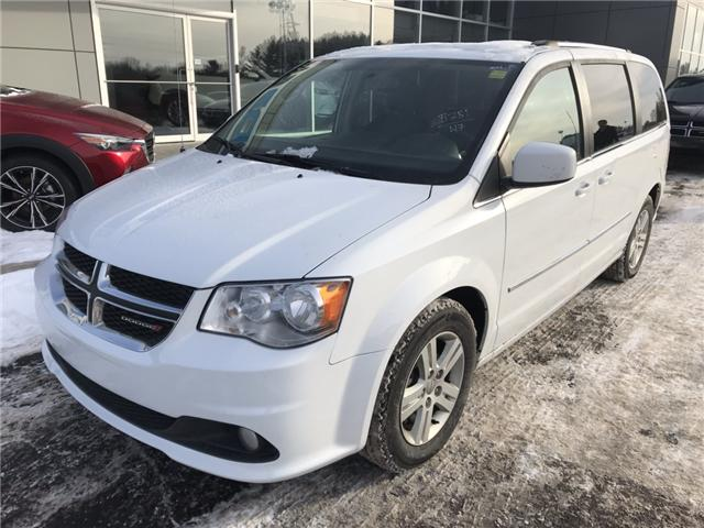 2017 Dodge Grand Caravan Crew (Stk: 21544) in Pembroke - Image 2 of 10