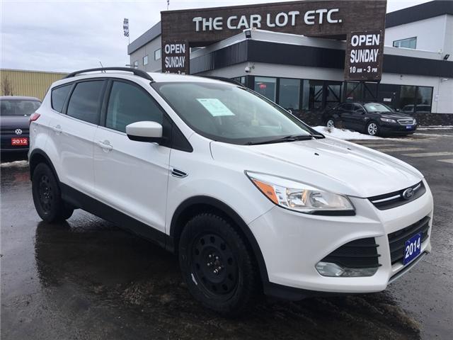 2014 Ford Escape SE (Stk: -) in Sudbury - Image 1 of 9