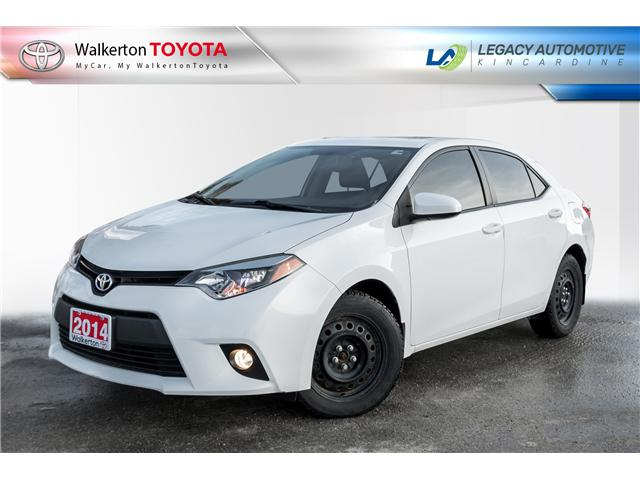 2014 Toyota Corolla LE (Stk: P8208) in Walkerton - Image 1 of 21