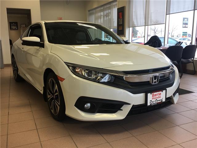 2016 Honda Civic EX-T (Stk: U16077) in Barrie - Image 1 of 6