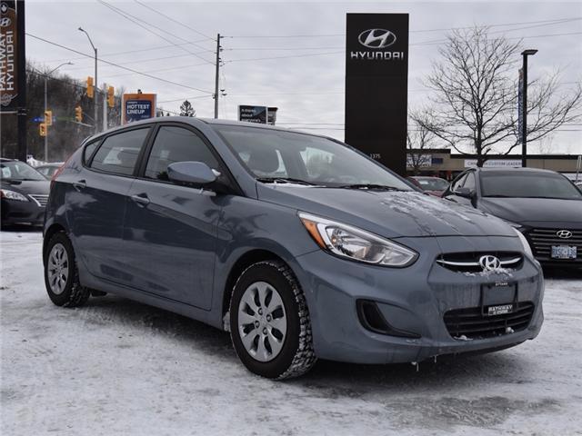 2017 Hyundai Accent SE (Stk: P3238) in Ottawa - Image 1 of 12