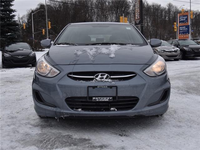 2017 Hyundai Accent SE (Stk: P3238) in Ottawa - Image 2 of 12