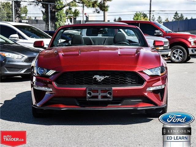 2018 Ford Mustang EcoBoost (Stk: 18MU673) in St Catharines - Image 2 of 22