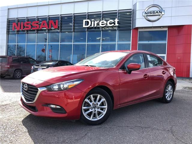 2017 Mazda Mazda3 SE | LEATHER | BACKUP CAM | CERTIFIED - (Stk: P0593) in Mississauga - Image 1 of 19