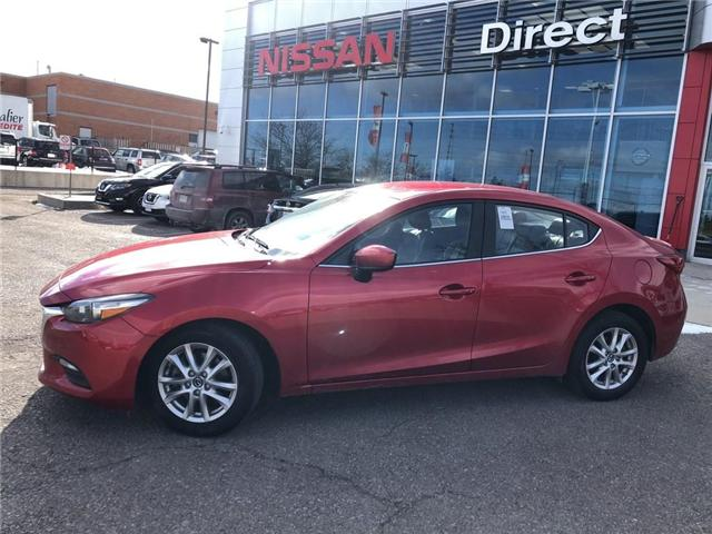 2017 Mazda Mazda3 SE | LEATHER | BACKUP CAM | CERTIFIED - (Stk: P0593) in Mississauga - Image 2 of 19