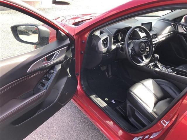 2017 Mazda Mazda3 SE | LEATHER | BACKUP CAM | CERTIFIED - (Stk: P0593) in Mississauga - Image 11 of 19