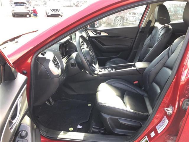 2017 Mazda Mazda3 SE | LEATHER | BACKUP CAM | CERTIFIED - (Stk: P0593) in Mississauga - Image 12 of 19