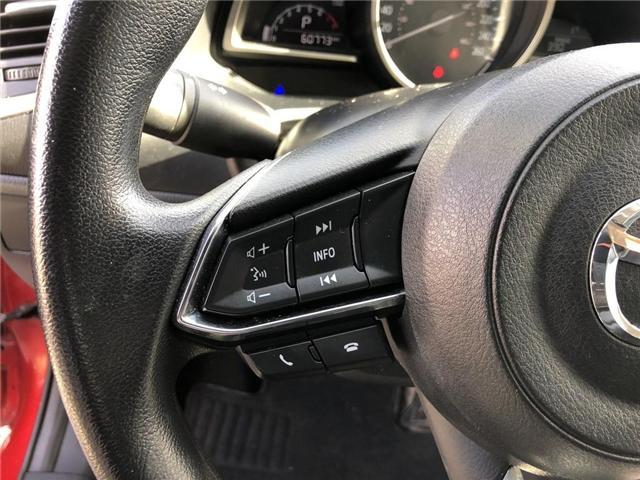 2017 Mazda Mazda3 SE | LEATHER | BACKUP CAM | CERTIFIED - (Stk: P0593) in Mississauga - Image 14 of 19