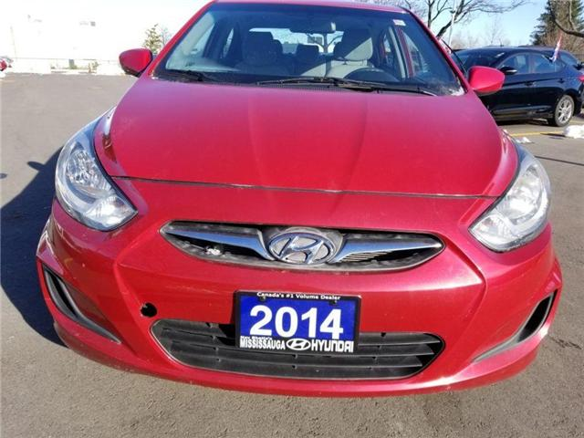 2014 Hyundai Accent GL-Sedan in great condition (Stk: op9987) in Mississauga - Image 2 of 16
