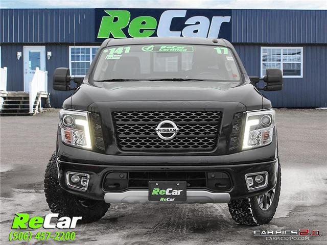 2017 Nissan Titan PRO-4X (Stk: 181180A) in Fredericton - Image 2 of 27