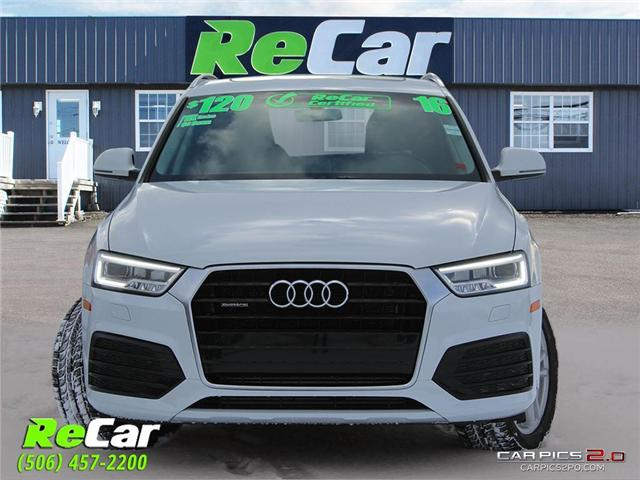 2016 Audi Q3 2.0T Technik (Stk: 181167A) in Fredericton - Image 2 of 30