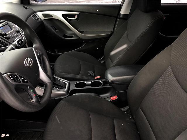 2016 Hyundai Elantra GL (Stk: U17018) in Goderich - Image 10 of 15