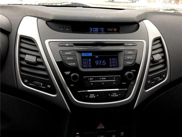 2016 Hyundai Elantra GL (Stk: U17018) in Goderich - Image 14 of 15