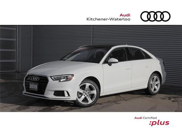 2018 Audi A3 2.0T Komfort (Stk: 2A3538) in Kitchener - Image 1 of 22