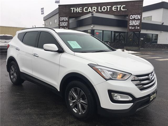 2016 Hyundai Santa Fe Sport 2.4 Base (Stk: 18619) in Sudbury - Image 1 of 14