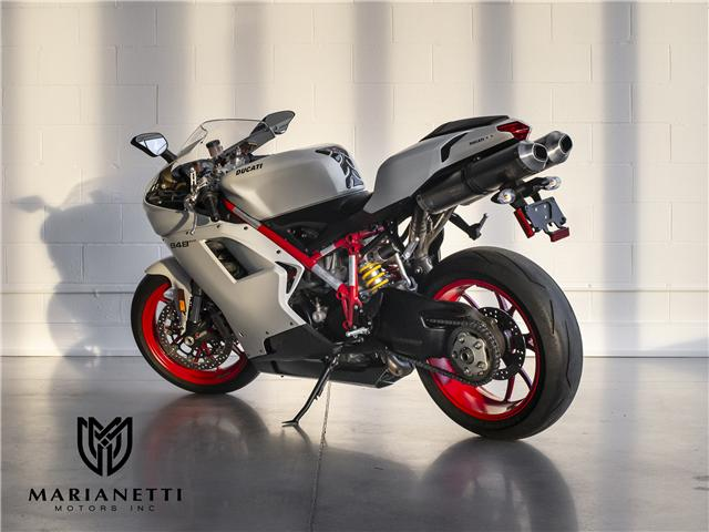 2011 Ducati 848 EVO (Stk: ZDM1XBMV2BB017038) in Woodbridge - Image 2 of 9