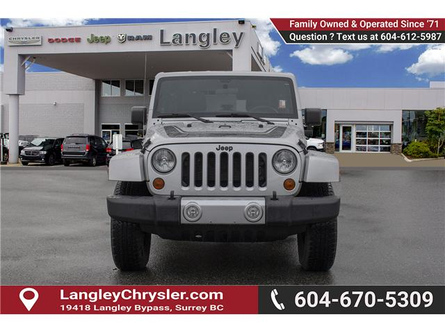 2012 Jeep Wrangler Unlimited Sahara (Stk: EE891290A) in Surrey - Image 2 of 27