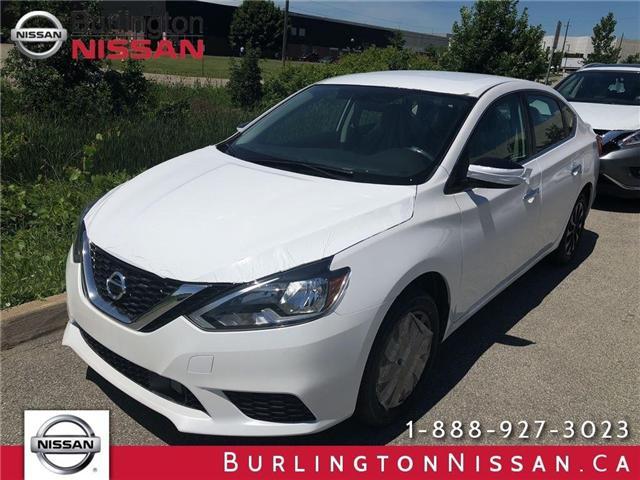 2018 Nissan Sentra 1.8 SV Midnight Edition (Stk: X6960) in Burlington - Image 1 of 5