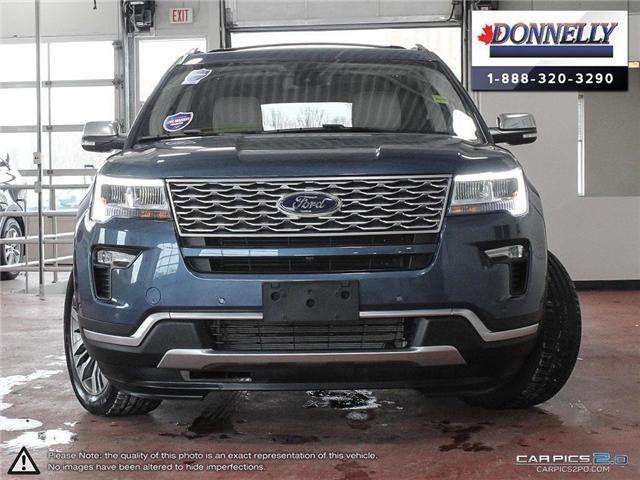 2018 Ford Explorer Platinum (Stk: PLDU5937) in Ottawa - Image 2 of 28