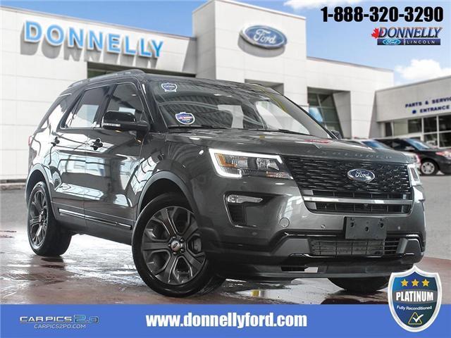2018 Ford Explorer Sport (Stk: PLDU5934) in Ottawa - Image 1 of 29