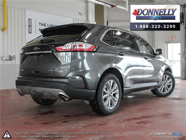 2019 Ford Edge Titanium (Stk: DS126) in Ottawa - Image 4 of 27