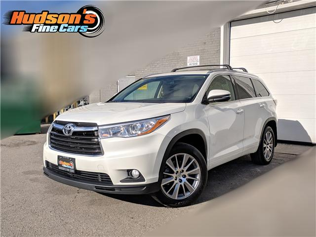2015 Toyota Highlander XLE (Stk: 93526) in Toronto - Image 1 of 27