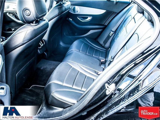 2016 Mercedes-Benz C-Class Base (Stk: 310163) in Burlington - Image 11 of 17