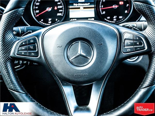 2016 Mercedes-Benz C-Class Base (Stk: 310163) in Burlington - Image 14 of 17