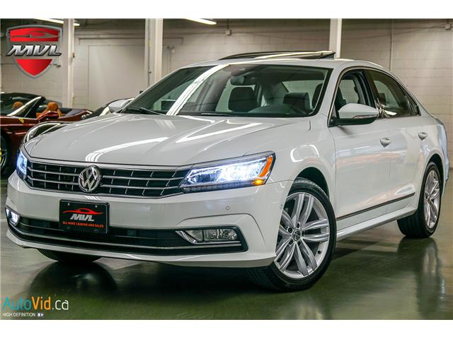2018 Volkswagen Passat 3.6L VR6 Highline (Stk: ) in Oakville - Image 1 of 38