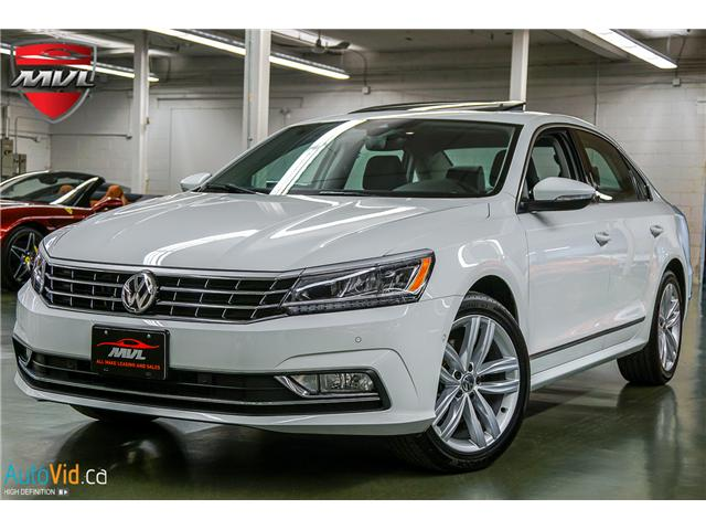 2018 Volkswagen Passat 3.6L VR6 Highline (Stk: ) in Oakville - Image 2 of 38
