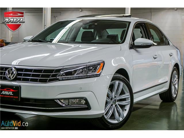 2018 Volkswagen Passat 3.6L VR6 Highline (Stk: ) in Oakville - Image 3 of 38