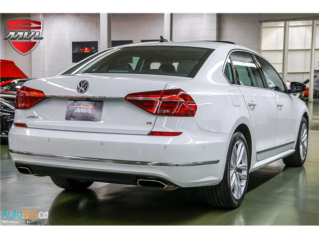 2018 Volkswagen Passat 3.6L VR6 Highline (Stk: ) in Oakville - Image 11 of 38
