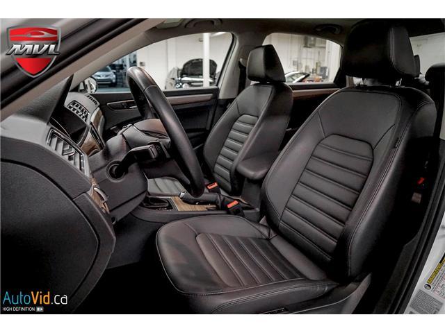 2018 Volkswagen Passat 3.6L VR6 Highline (Stk: ) in Oakville - Image 20 of 38