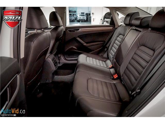 2018 Volkswagen Passat 3.6L VR6 Highline (Stk: ) in Oakville - Image 21 of 38