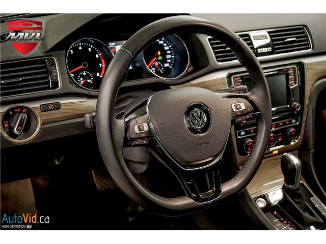 2018 Volkswagen Passat 3.6L VR6 Highline (Stk: ) in Oakville - Image 29 of 38