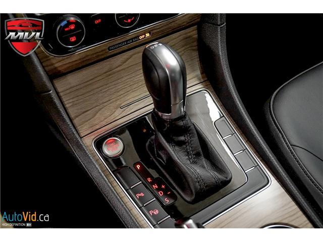 2018 Volkswagen Passat 3.6L VR6 Highline (Stk: ) in Oakville - Image 30 of 38