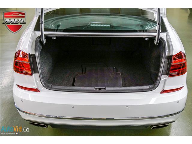 2018 Volkswagen Passat 3.6L VR6 Highline (Stk: ) in Oakville - Image 35 of 38