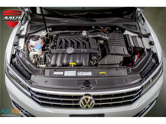 2018 Volkswagen Passat 3.6L VR6 Highline (Stk: ) in Oakville - Image 37 of 38
