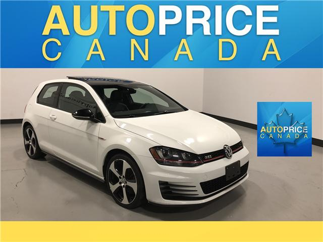 2017 Volkswagen Golf GTI 3-Door Autobahn (Stk: W9980) in Mississauga - Image 1 of 25