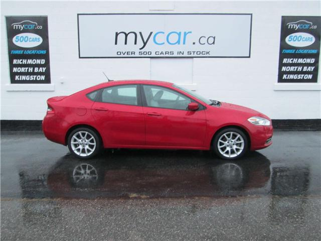 2013 Dodge Dart SXT/Rallye (Stk: 181866) in North Bay - Image 1 of 13
