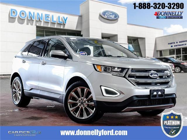 2017 Ford Edge Titanium (Stk: PLDUR5906A) in Ottawa - Image 1 of 28